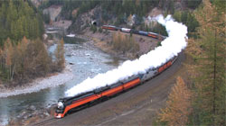 Southern Pacific 4449 on Marias Pass