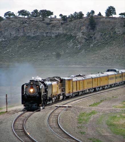 UP 844 in Wyoming